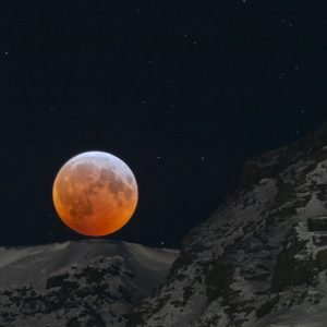 Full moon eclipse in January 2019