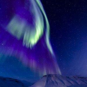 Aurora at daytime